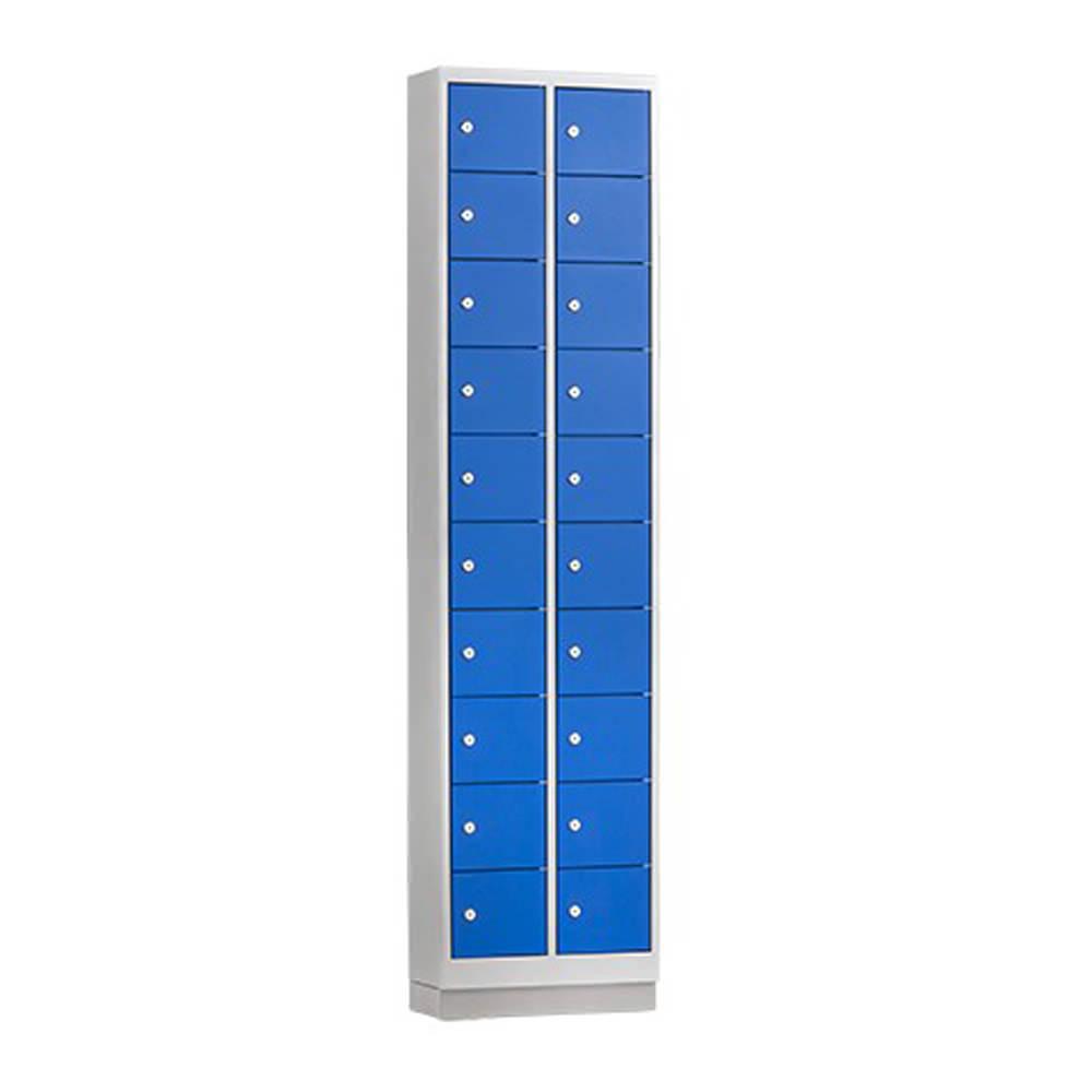 Mini Locker met 10 of 20 deuren Officetopper lockers voor kleine voorwerpen