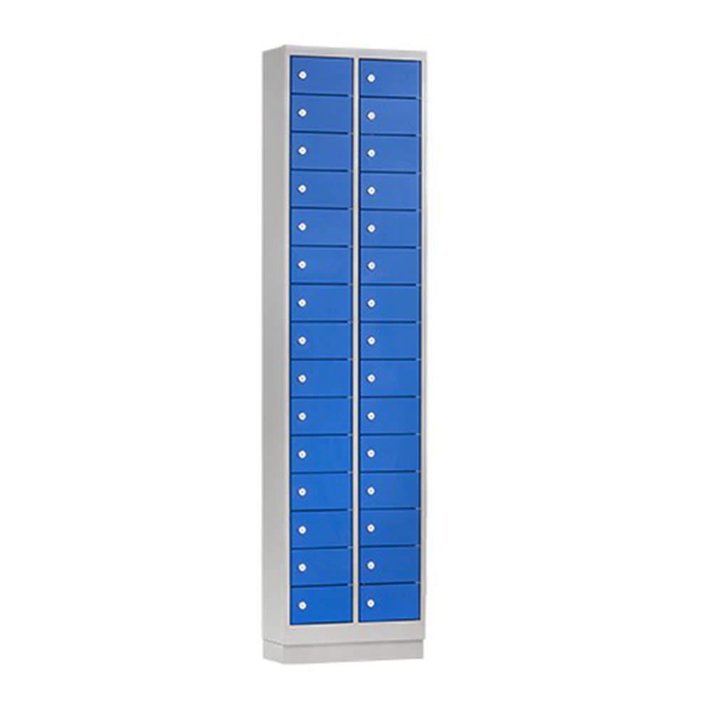 Mini Locker met 15 of 30 vakken Officetopper lockers voor kleine voorwerpen