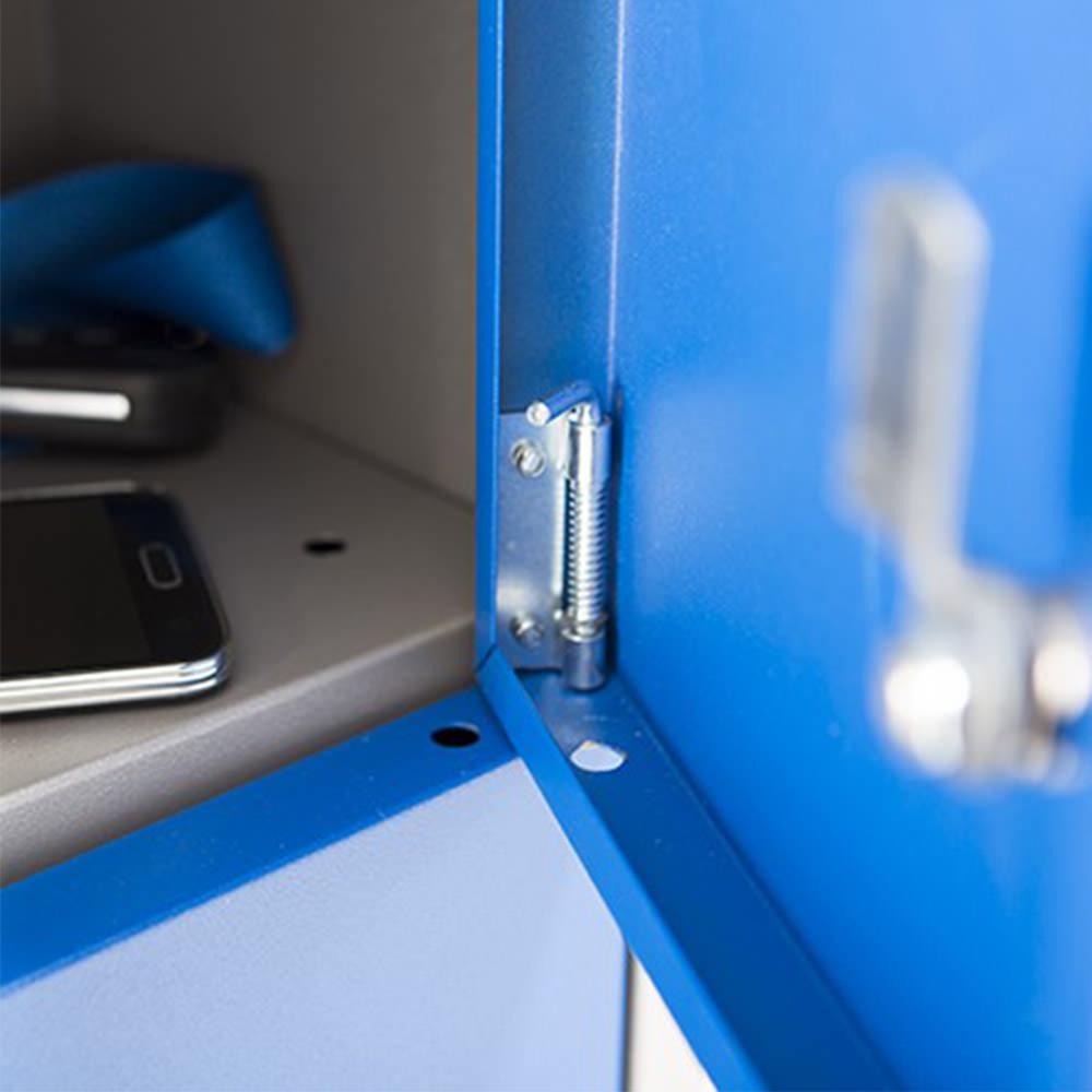 Lockerkast met kleine vakken Officetopper mini lockers kopen