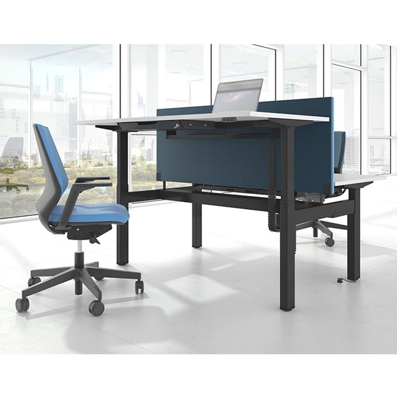Motion duo-zit-sta-werkplek Officetopper kantoormeubelen