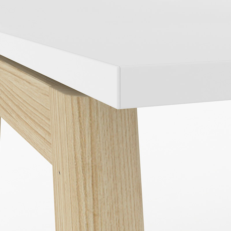 Nova wood wit blad