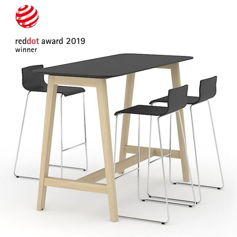 Nova Wood bartafel Red Dot Design Award Officetopper
