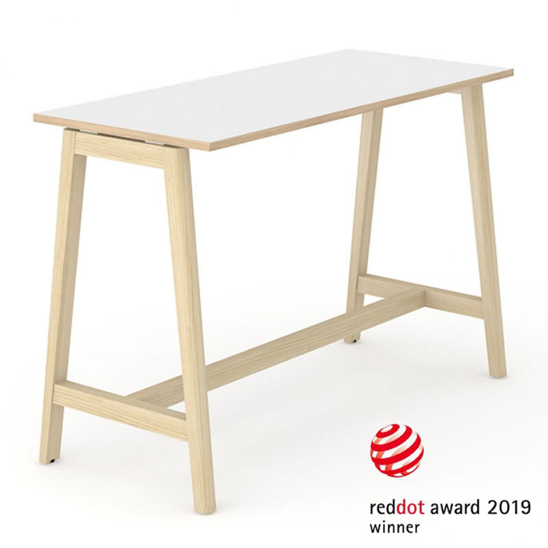 Nova Wood statafel Red Dot Design Award Officetopper