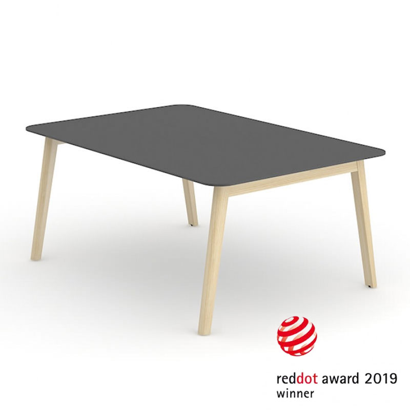 Nova Wood vergadertafel Red Dot Design Award Officetopper