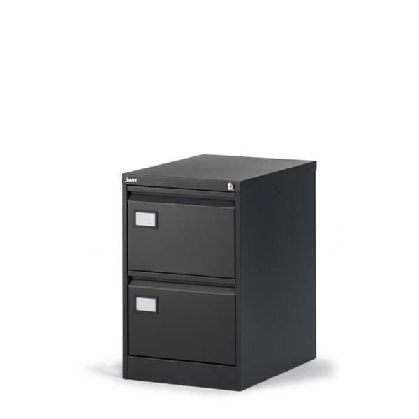 Lage Dossierladekast 2 laden Officetopper a4, folio en groot folio