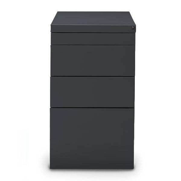 Staand-ladeblok-hangmappen-Elite-antraciet-ral-9006-Officetopper