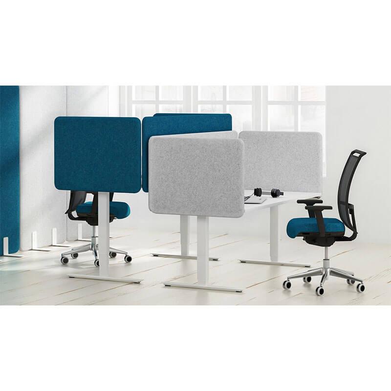 Top 530 bureau scheidingswand Officetopper kantoormeubelen