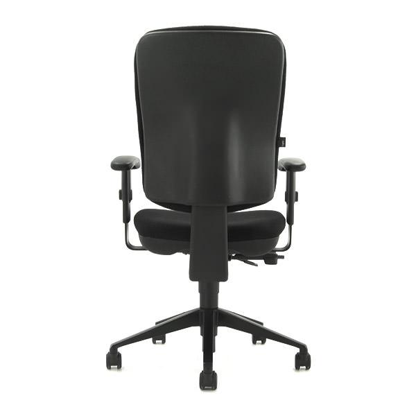 Tweedehands bureaustoel Beta Aalsmeer met zwarte stoffering Officetopper.com