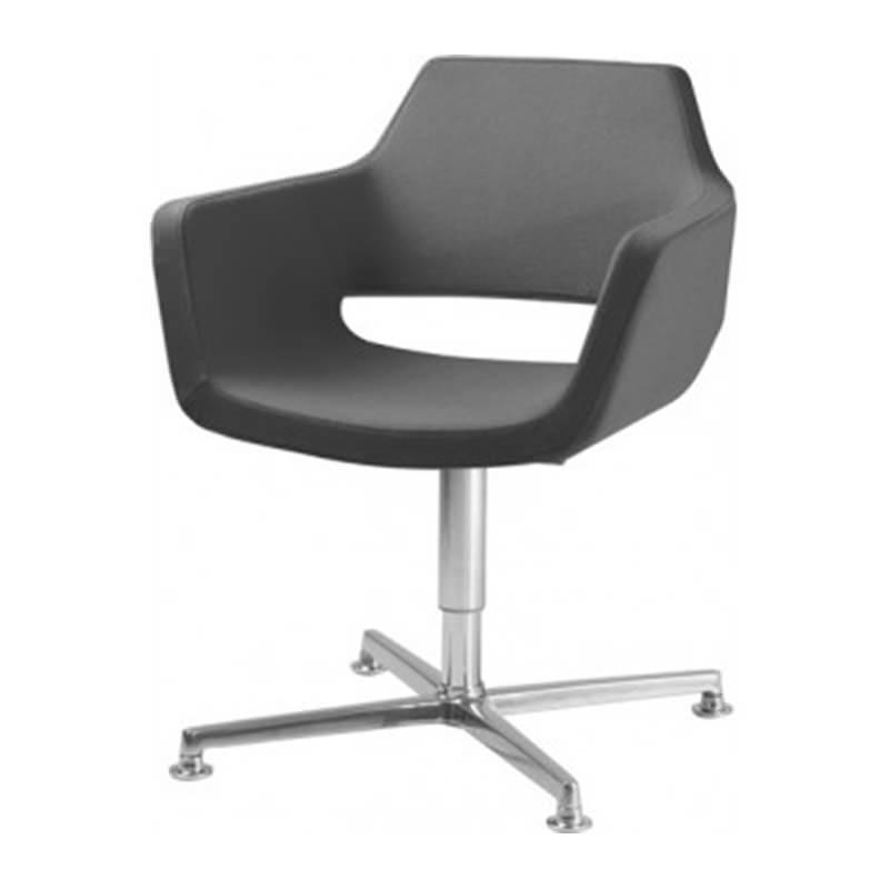 fauteuil nano met kruisvoet officetopper
