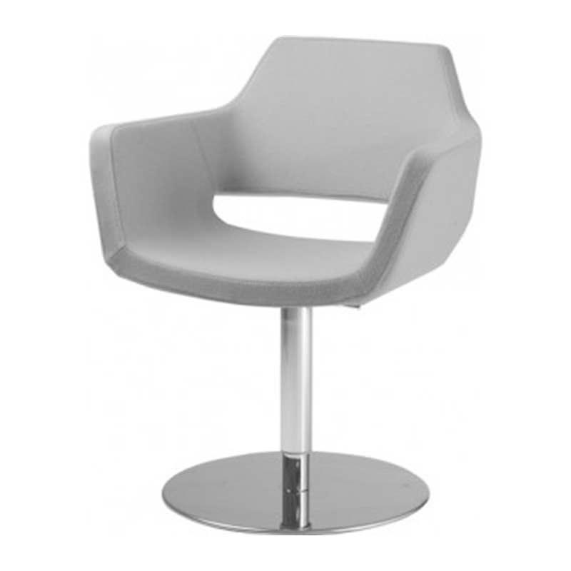 grijze design fauteuil Officetopper