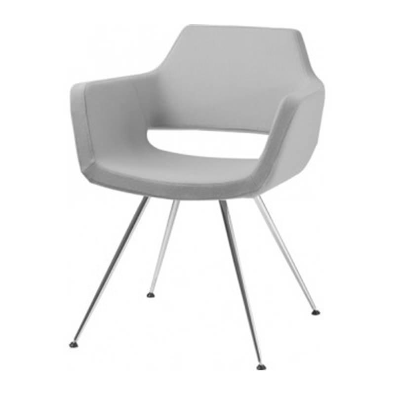 4-poots vergader fauteuil Nano van huislijn