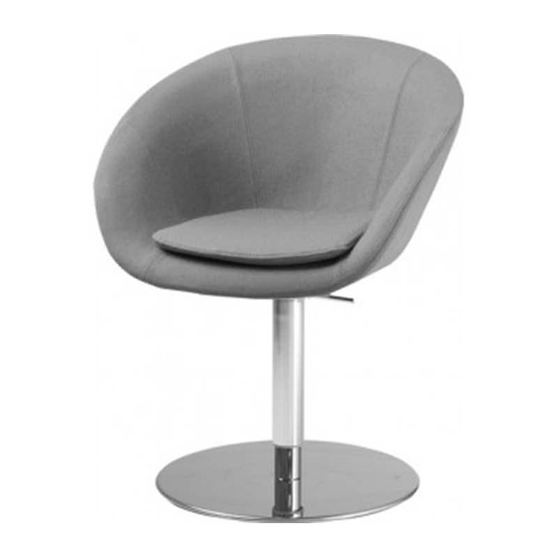 Kuip fauteuil met kolomvoet kopen