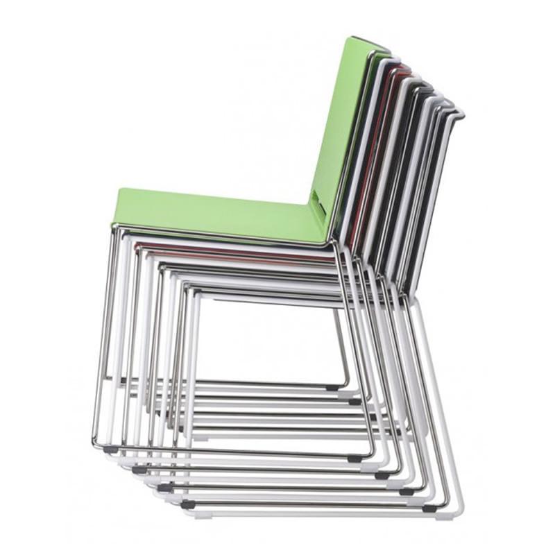 Vergaderstoel Marko in diverse kleuren kantinestoel Officetopper stoelen