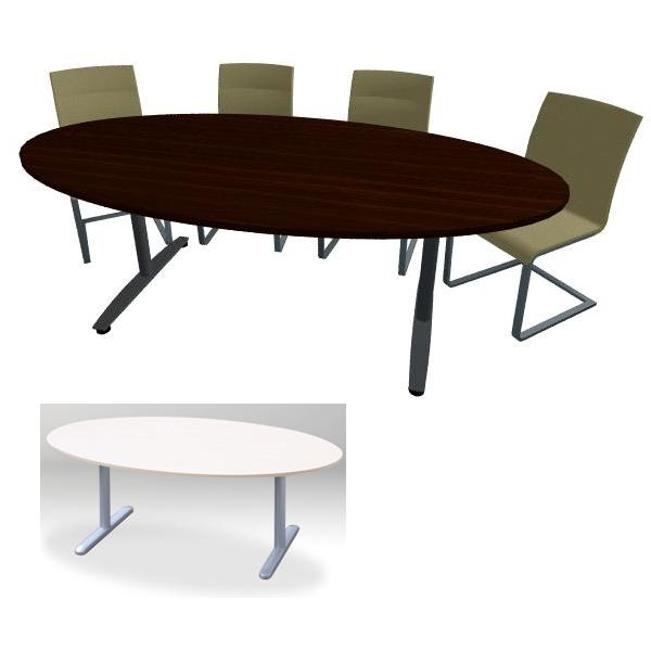 Vergadertafel Meeting ellipse