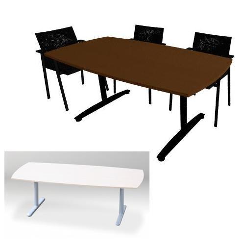Vergadertafel Meeting tonvorm