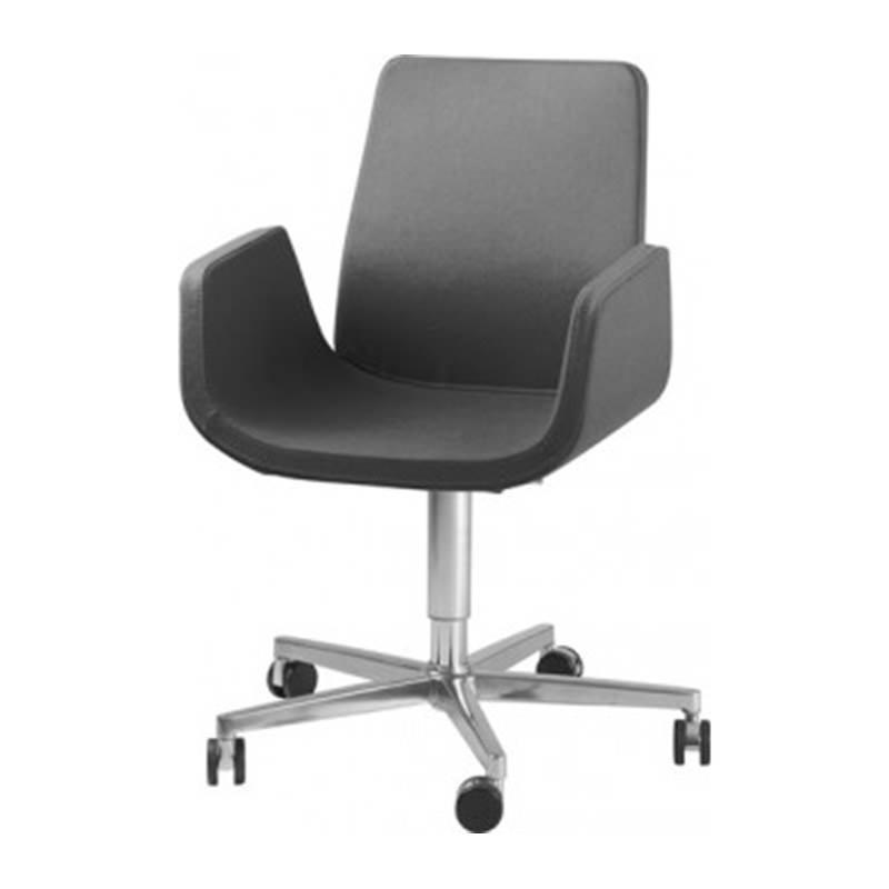 Verrijdbare fauteuil Nero Officetopper vergader fauteuils kope