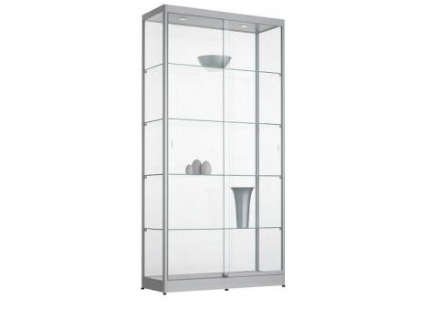 100cm Brede Vitrinekast Officetopper vitrines voor kantoor