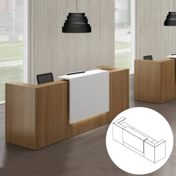 Z2-Receptiebalie-Officetopper-kantoormeubelen