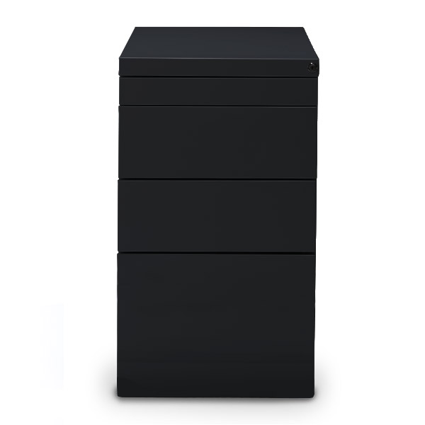 Staand-ladeblok-Elite-zwart-ral-9005-Officetopper