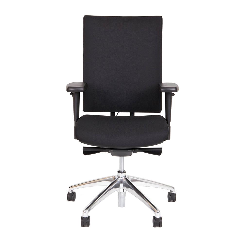 NPR Bureaustoel O.T. Comfort met zwarte stoffering Officetopper kantoormeubilair