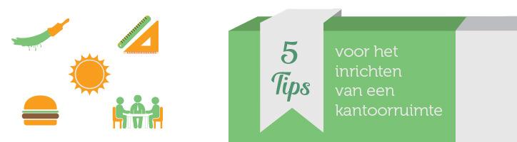 5 tips voor uw nieuwe kantoorinrichting