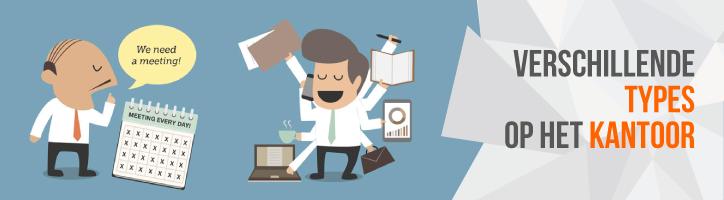 13 types die je op elk kantoor tegenkomt